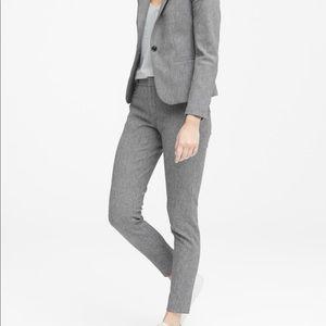 Banana Republic Sloan Skinny-Fit Textured Pant